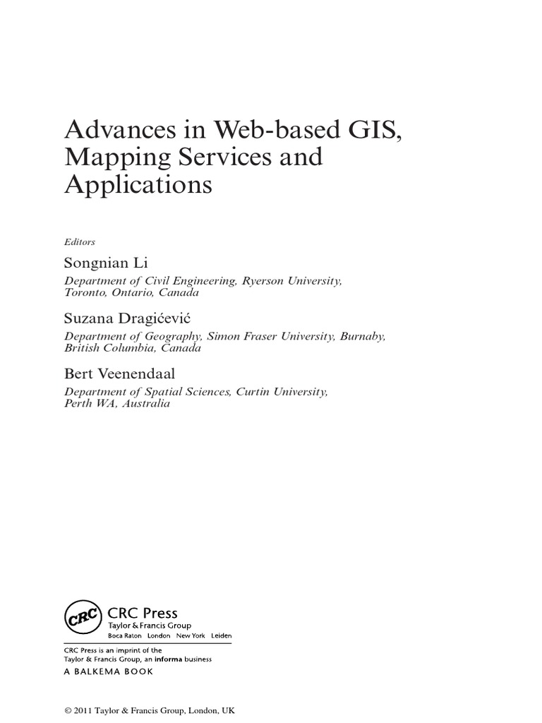 Advances in web based gis mapping services and applications advances in web based gis mapping services and applications geographic information system geomatics fandeluxe Image collections