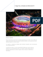 Así Será El Nuevo Camp Nou