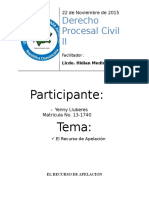 El Recurso de Apelacion (PROCESAL CIVIL II).docx