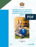 Informe Final PRICASS - Oruro