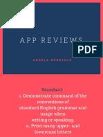 app reviews  1