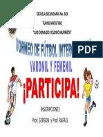 Torneo de Futbol1