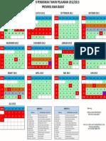 Kalender Pendidikan 2012 2013