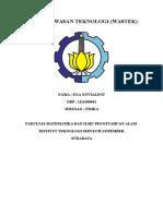 Tugas Wawasan Teknologi Cover