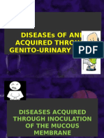 Disease of and Acquired Through Genito-urinary Tract