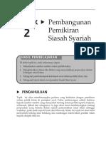 Topik 2 Pembangunan Pemikiran Siasah Shariyyah