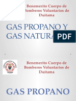 Gas Propano y Gas Natural