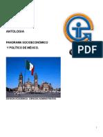 Apuntes Curso Completo Panorama Socio Económico de México
