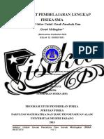 191591842 Perangkat Pembelajaran Lengkap FISIKA SMA Analisis Vektor Untuk Gerak Parabola Dan Gerak Melingkar