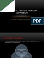Inversion Extranjera y Alianzas Estrategicas (1)