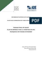 TFG-Plan de Empresa Franquicia Panaria-Teresa Wesolowski
