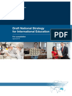 Draft National Strategy for International Education
