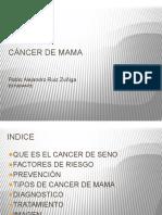 Diapositiva de Cancer de Mama