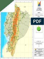 Mapa Del Estado de La Red Vial Estatal 05-02-2016