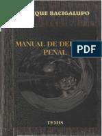 Manual de Derecho Penal - Bacigalupo, Enrique
