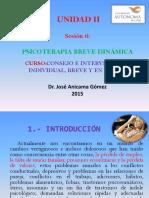 SESION 6 CONSEJO E INTERVENCION BREVE Y EN CRISIS