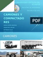 Camiones y Compactadoras
