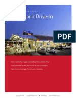 data Sonic Drive-In Case Study