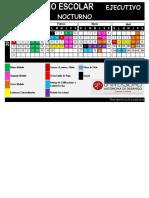 Calendario Sistema Ejecutivo Nocturno 2016-II Ensenada