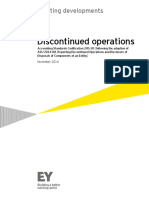 Financial reporting developments - Discontinued operations