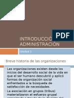 Breve historia de las organizaciones