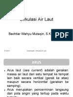 Sirkulasi Air Laut - Bachtiar Wahyu Mutaqin