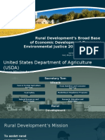 Rural Development's Broad Base of Economic Development Programs by Vernita Dore