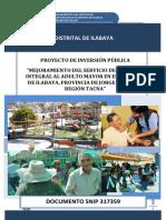 Proyecto de inversión pública social