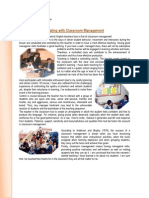 DEALING WITH CLASSROOM MANAGMENT- MIRIAM SHEEN TEACHER TRAINER