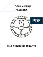 Program Kerja Ekstrakulikuer Paskibra