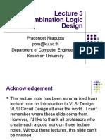 Lecture05-2005 Combinational Design