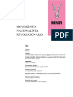 MNR Documento