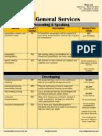 customizable services
