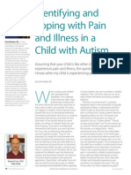 Identifying and Coping with Pain and Illness in a Child with Autism by Emile Mulder, BA