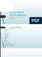 Dpb 3023- Negotiable Instruments
