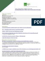 Bulletin de veille n°60 de l'institut d'éducation à l'agro-environnement de Florac