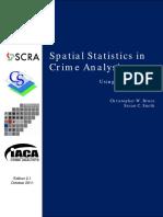 Spatial Statistics in Crime Analysis