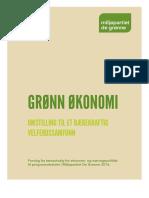 Grønn økonomi