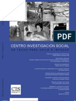 Revista Centro Investigación Social Techo Para Chile Numero 6