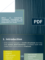 Effect of Endodontic Treatment Procedures on Canal Shape