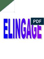 ELINGAGE facicule
