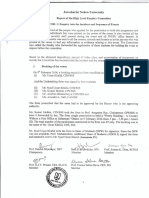 JNU Anti-national activities, High Level Enquiry Report