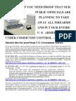 Guns and Control Pub Law 87 297