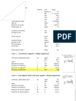 Pipe Vibration Calculations