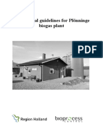 Operational Guidelines Plonninge Biogas Plant