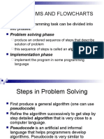 Algorithms and Flowcharts 1
