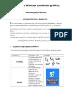 Utilizar Las Diferentes Herramientas Para Manejo Del Entorno en Un Sistema Operativo de Ambiente Gráfico.