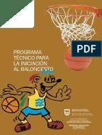 Apuntes de iniciación al Baloncesto