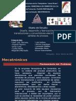 Presentación Sobre Objeto de Estudio, Equipo MECATRONICOS.