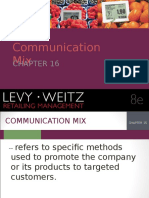 Retail Communication Mix